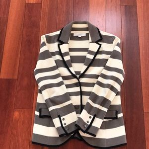 Loft sweater blazer